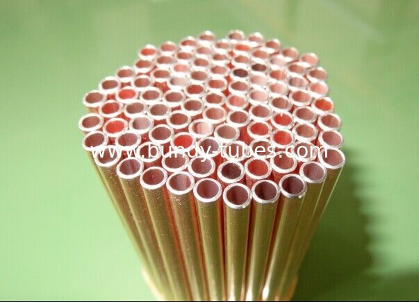 Cold Drawn 4*0.6mm CU / Copper Coated Bundy Tube GB/34020.1-2017