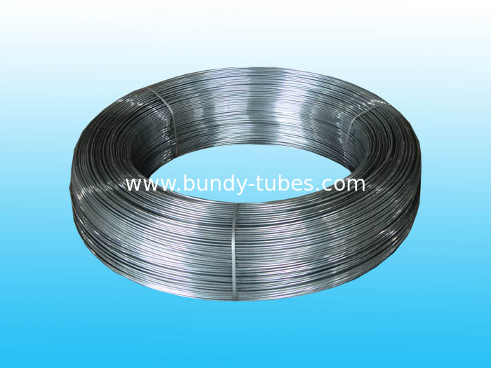 Plain Steel Bundy Tube With Antirust Oil For Refrigeration System
