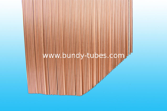 Low carbon steel strip Double Wall Bundy Tube For Compressor